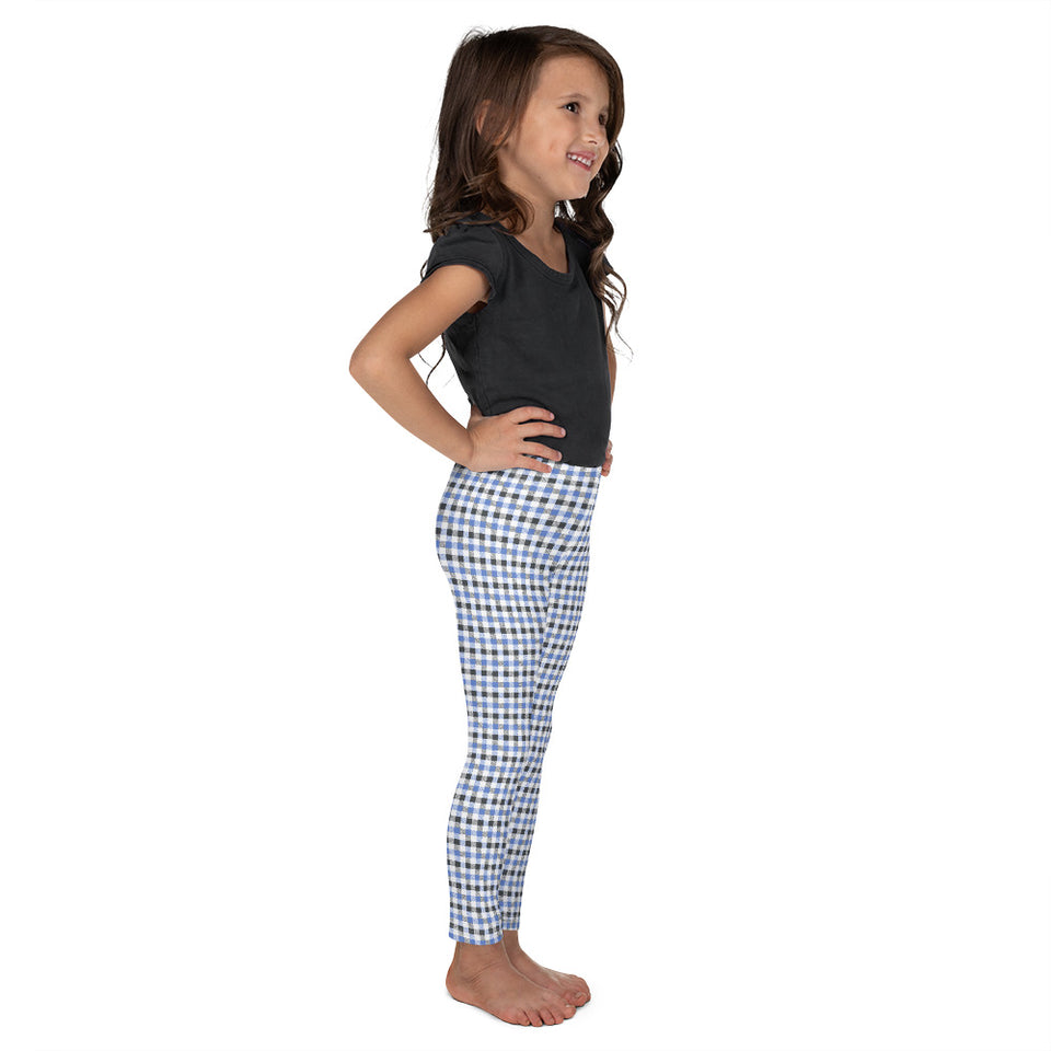 gingham-blue-grey-white-elegant-classic-kids-leggings-shop