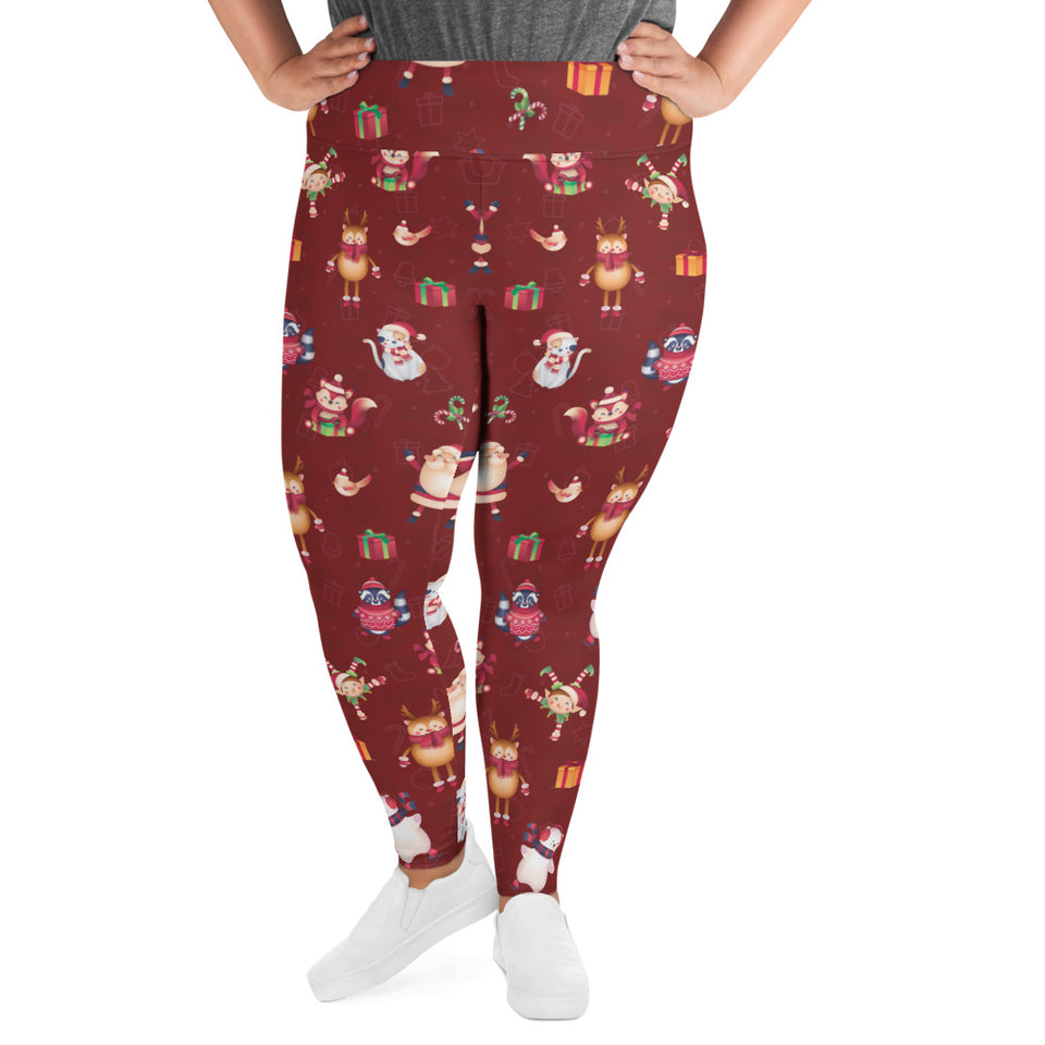 Christmas Joy Super Curvy Leggings