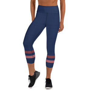 dark-blue-pink-sporty-stripes-elegant-women-yoga-capri-leggings-shop-chic