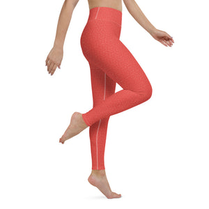 coral-red-women-yoga-leggings-usa