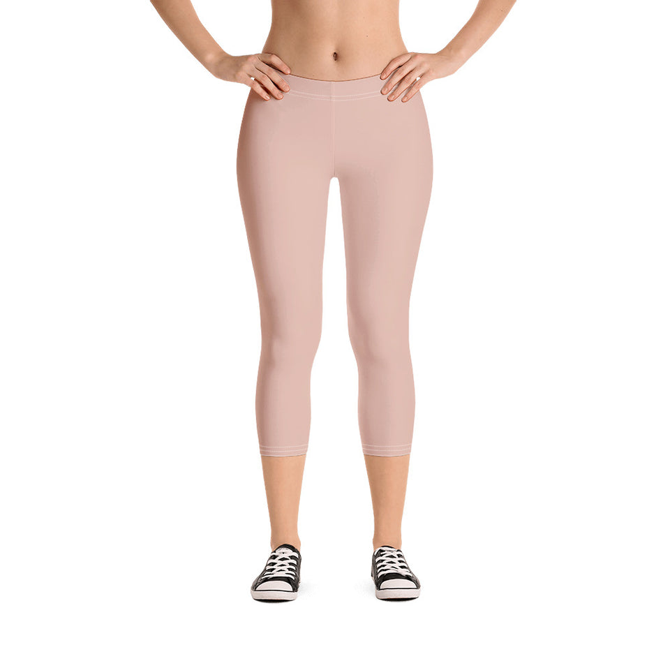 peach-pink-capri-leggings