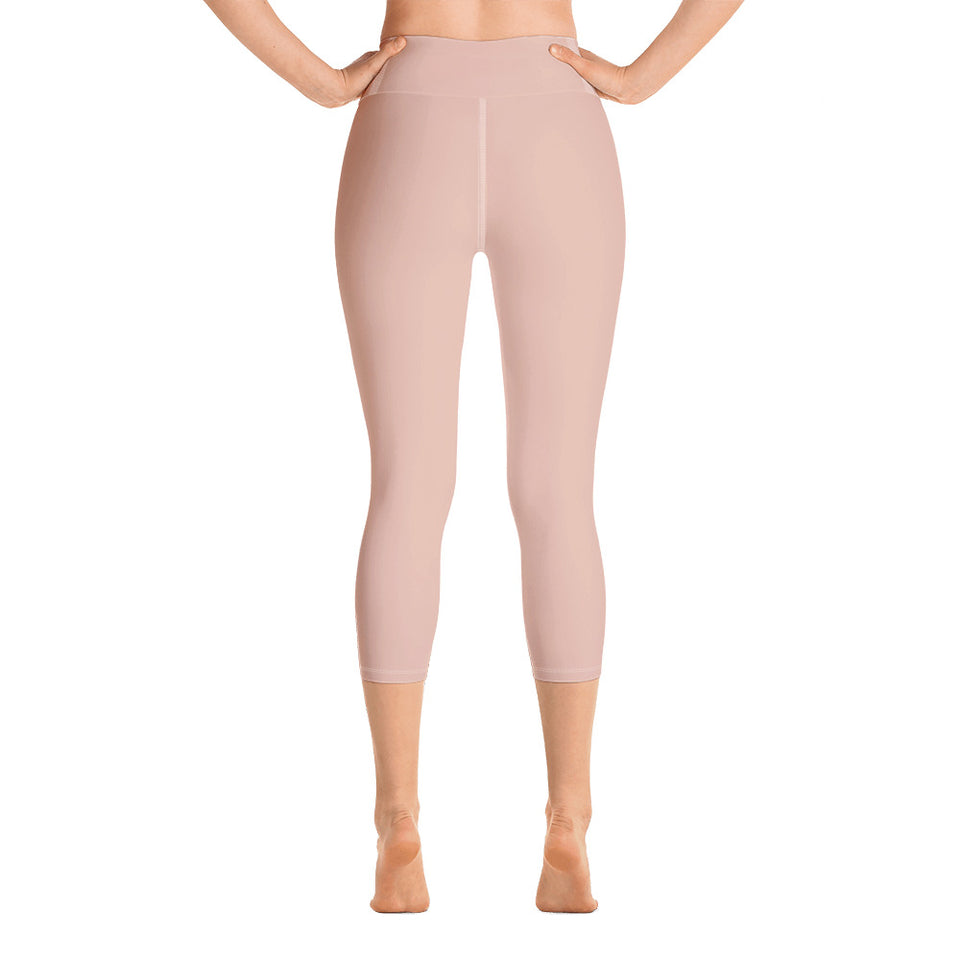 neutral-elegant-peach-pink-leggings-yoga-capri-1