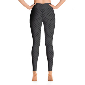 polka-dots-charcoal-gray-black-yoga-leggings-shop-chic
