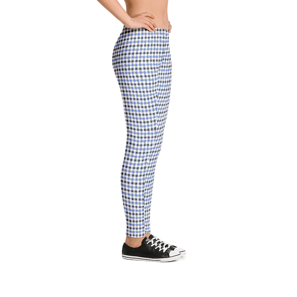 gingham-blue-grey-white-elegant-classic-women-street-urban-leggings-3
