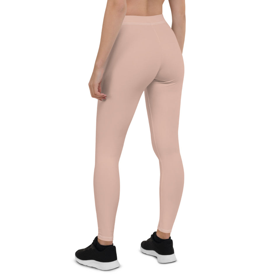 chic-peach-pink-leggings-for-women