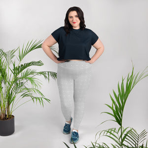 geometric-white-grey-elegant-chic-plus-size-leggings