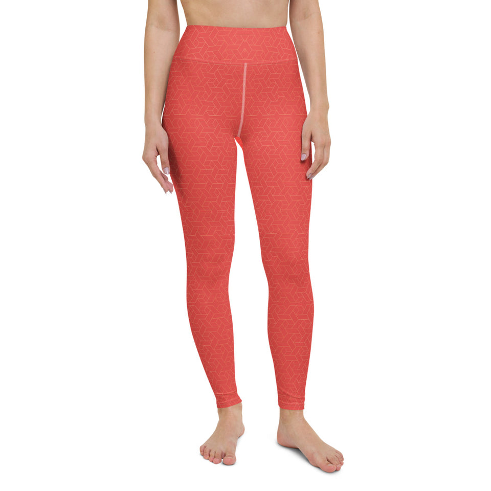 coral-red-women-yoga-leggings-1