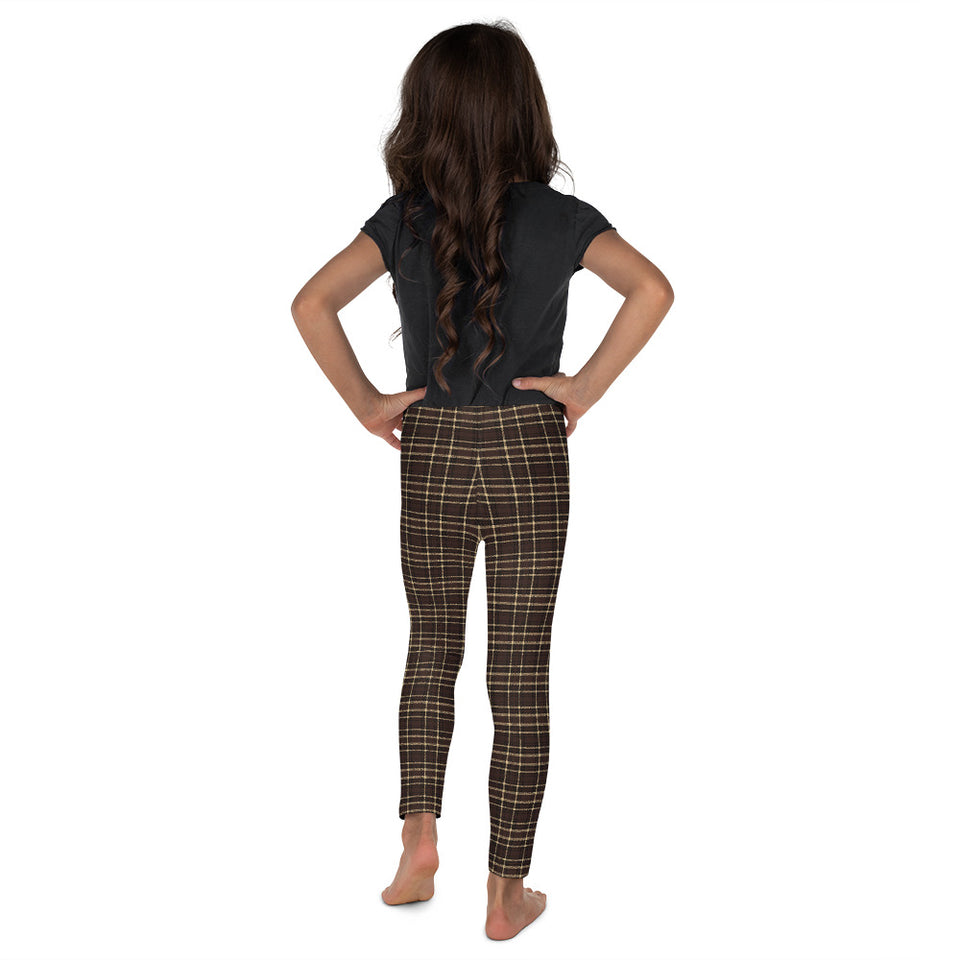 Tartan-brown-yellow-elegant-classic-leggings-kids-shop-2
