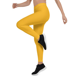 Mustard Yellow Urban Leggings