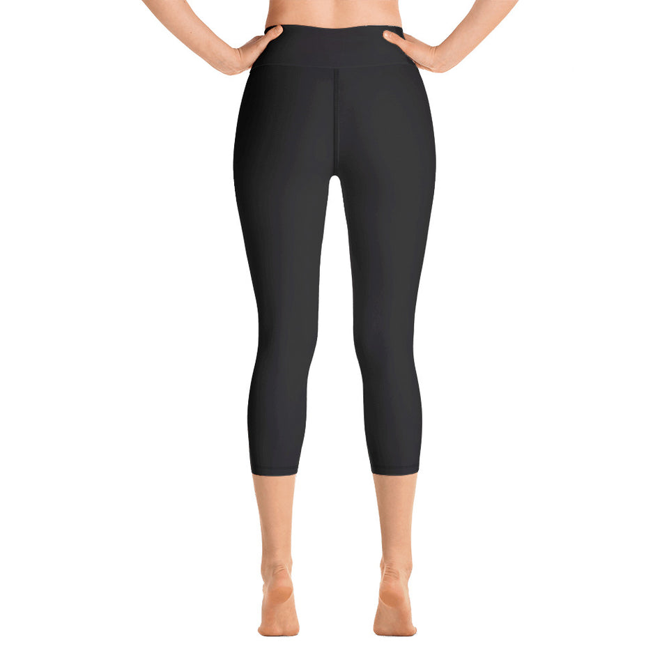 solid-charcoal-gray-women-capri-leggings