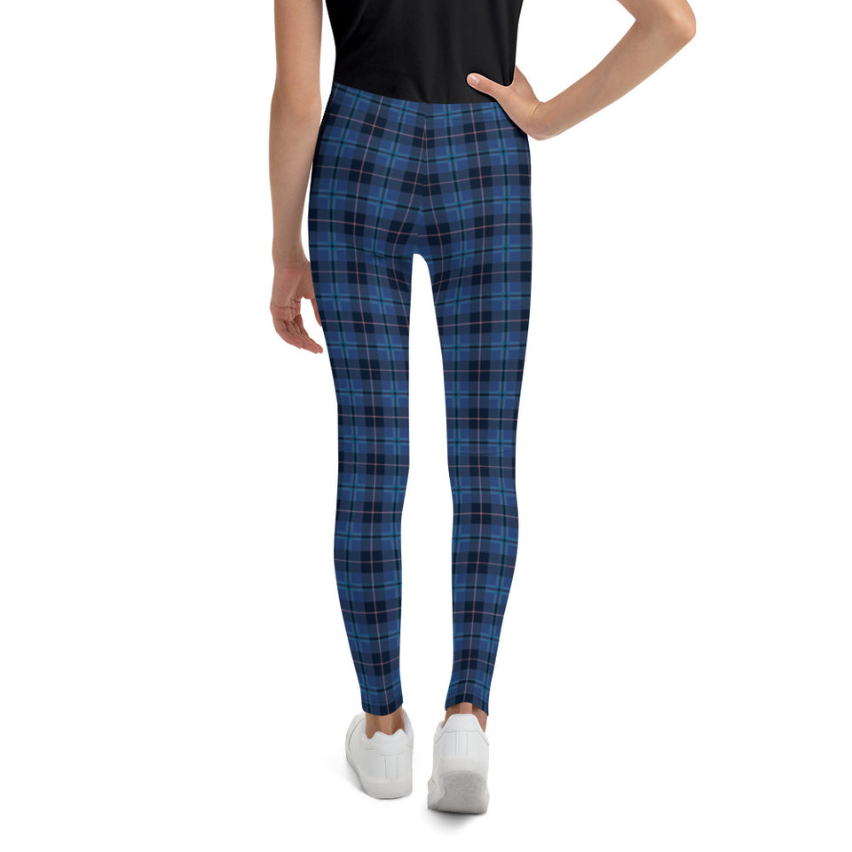 navy-blue-pink-tartan-classic-elegant-beautiful-youth-leggings-teens-girls-shop