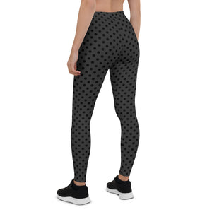 polka-dots-charcoal-gray-black-leggings-shop