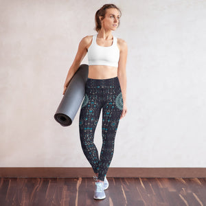 chalchi-aztec-mandala-geometric-navy-blue-jade-green-yoga-leggings-women