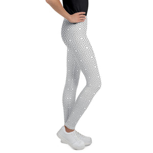clarity-geometric-white-grey-elegant-chic-youth-leggings-for-teens