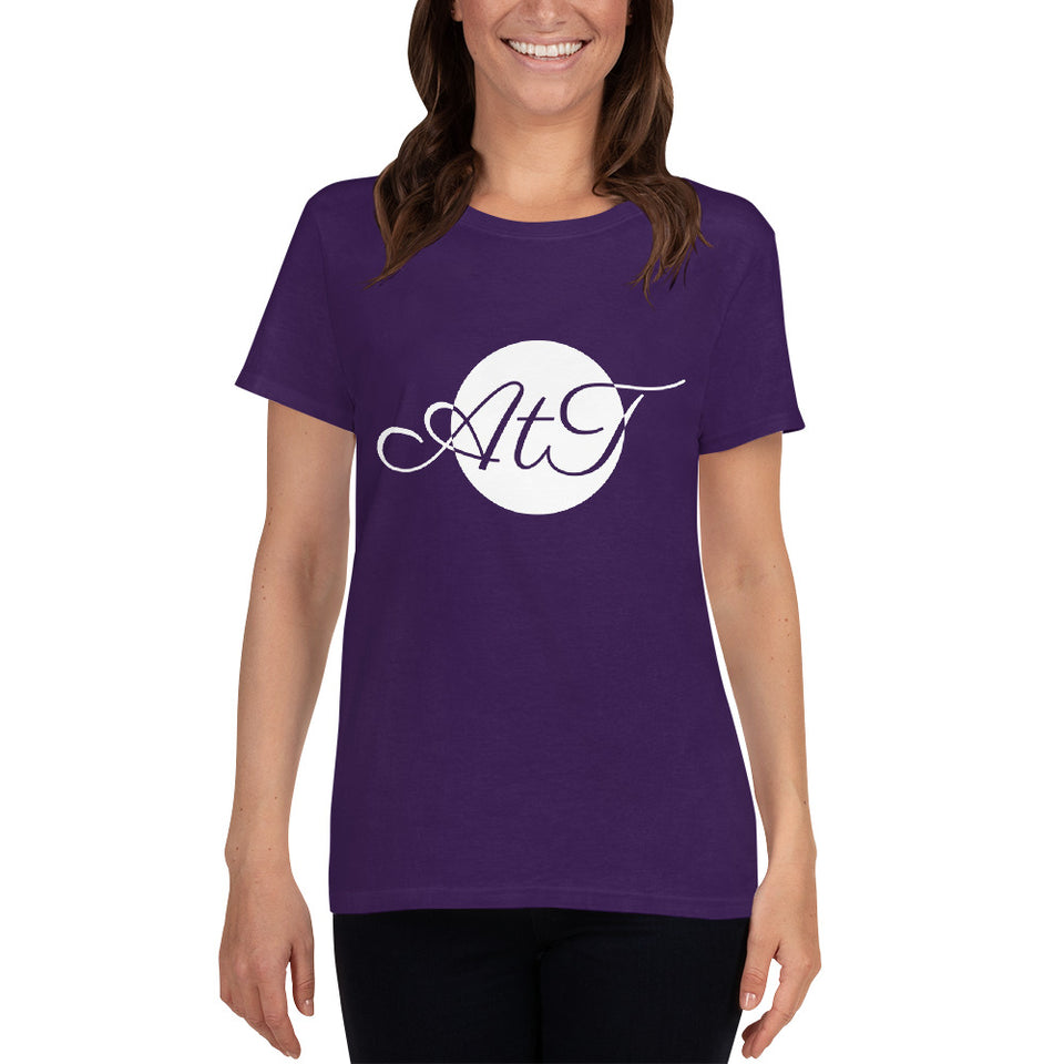 AtT-white-mid-Scoop-Neck-T-shirt-purple