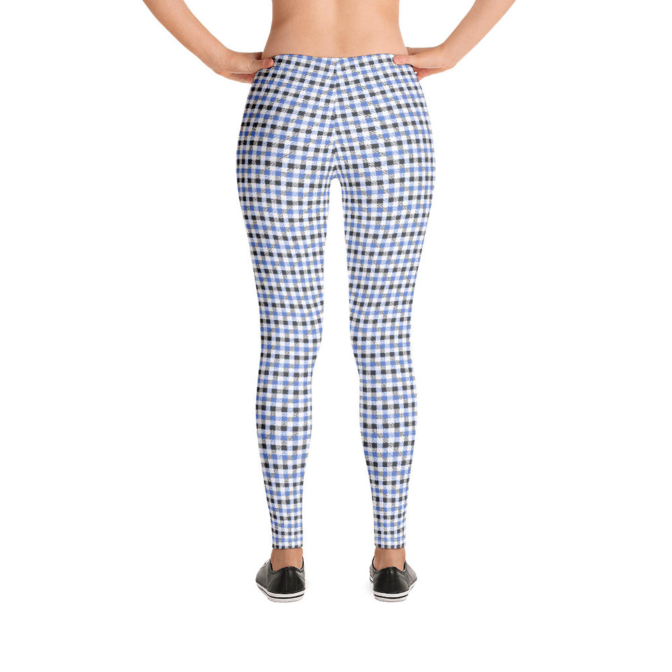 gingham-blue-grey-white-elegant-classic-women-street-urban-leggings-2
