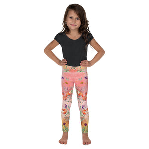 foxy-cute-pink-kids-leggings-girls