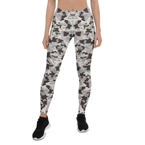 Gray Camo Urban Leggings