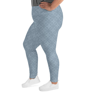 light-blue-mandala-geometric-winter-plus-size-leggings-women