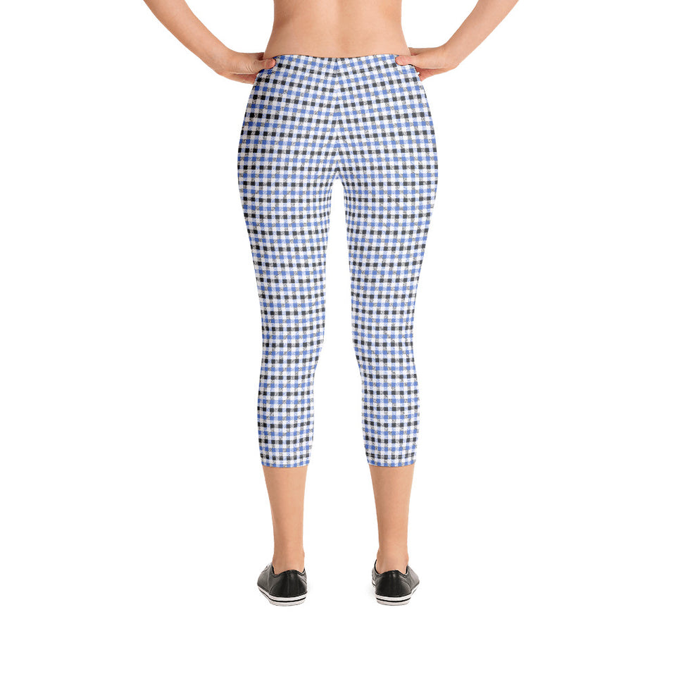 gingham-blue-grey-white-elegant-classic-women-leggings-capri-shop
