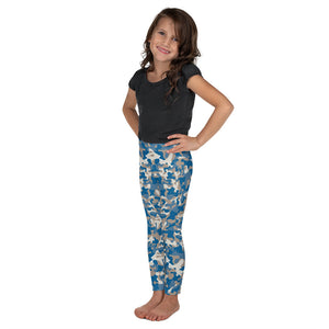 Blues Camo Kid's Leggings