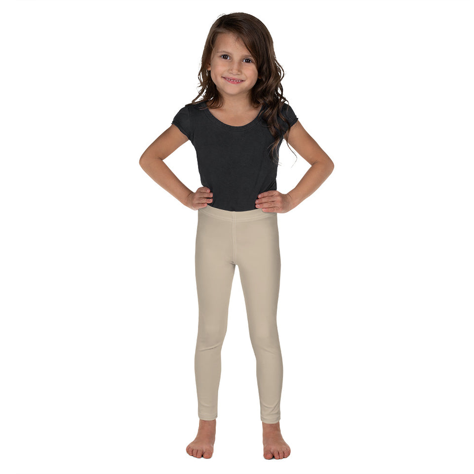 neutral-solid-sand-beige-chic-kids-leggings