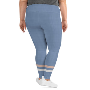 light-blue-cream-ivory-sporty-stripes-plus-size-leggings-shop