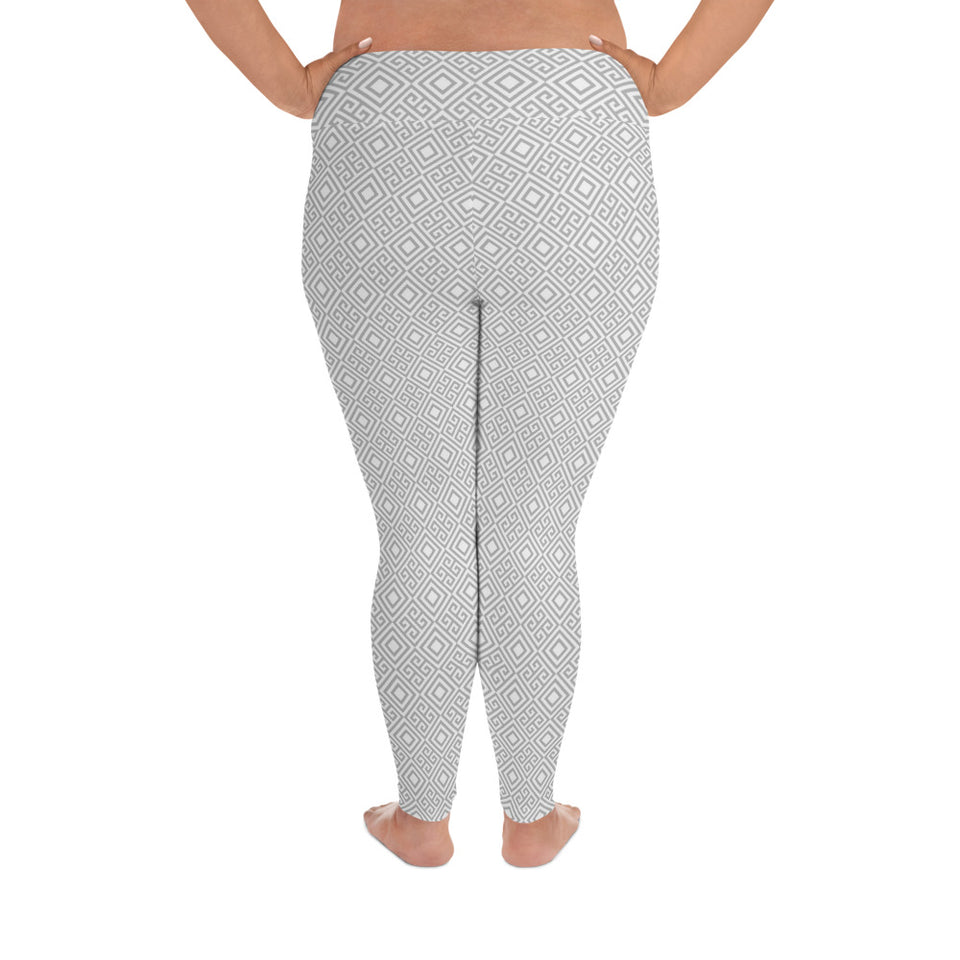 geometric-white-grey-elegant-chic-plus-size-leggings-shop