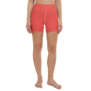 coral-red-women-yoga-shorts-1