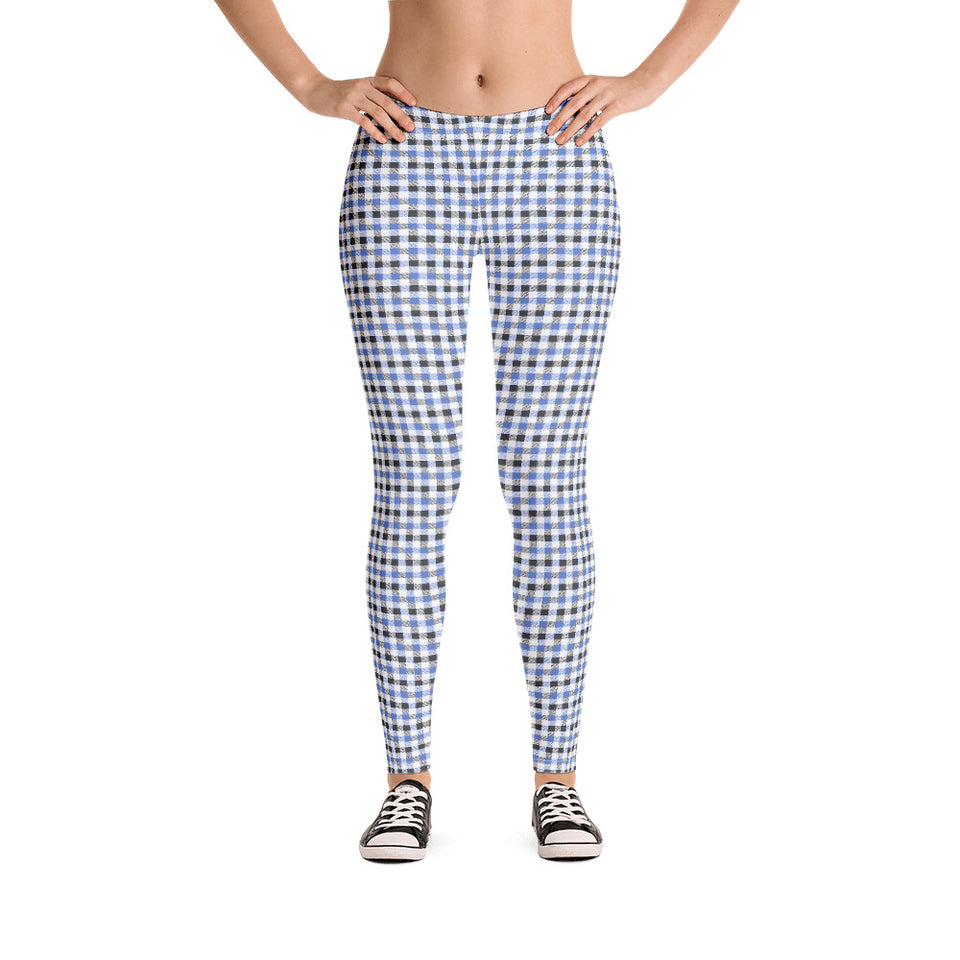 gingham-blue-grey-white-elegant-classic-women-street-urban-leggings-1