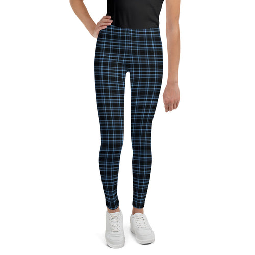 Rockstar Tartan Teen Leggings