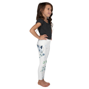 Roses-white-blue-green-gold-kids-leggings-girls-carolina