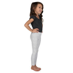 clarity-geometric-white-grey-elegant-chic-kids-leggings-for-girls