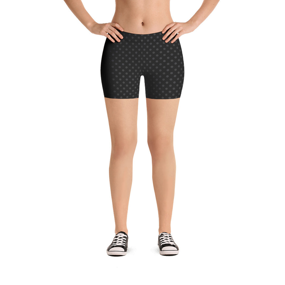 polka-dots-black-and-charcoal-gray-urban-shorts-shop