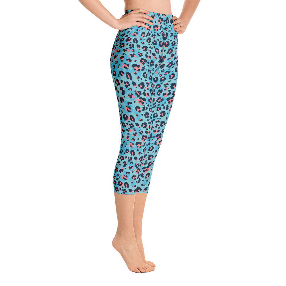 leopard-cool-blue-animal-print-women-yoga-capri-leggings-2