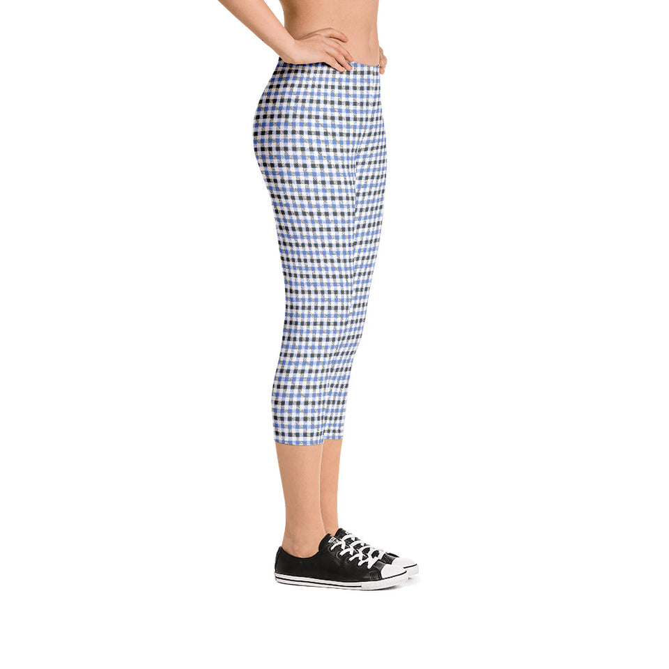 gingham-blue-grey-white-elegant-classic-women-street-urban-leggings-capri-2