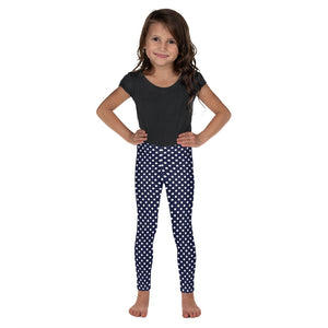 Polka-Dots-Navy-White-Kids-Leggings