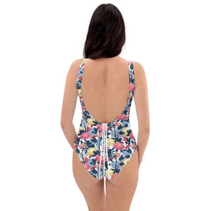 Japanese Forest One-Piece Swimsuit