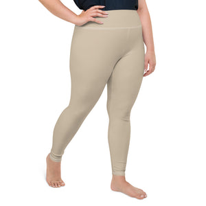 neutral-sand-beige-woman-plus-size-leggings
