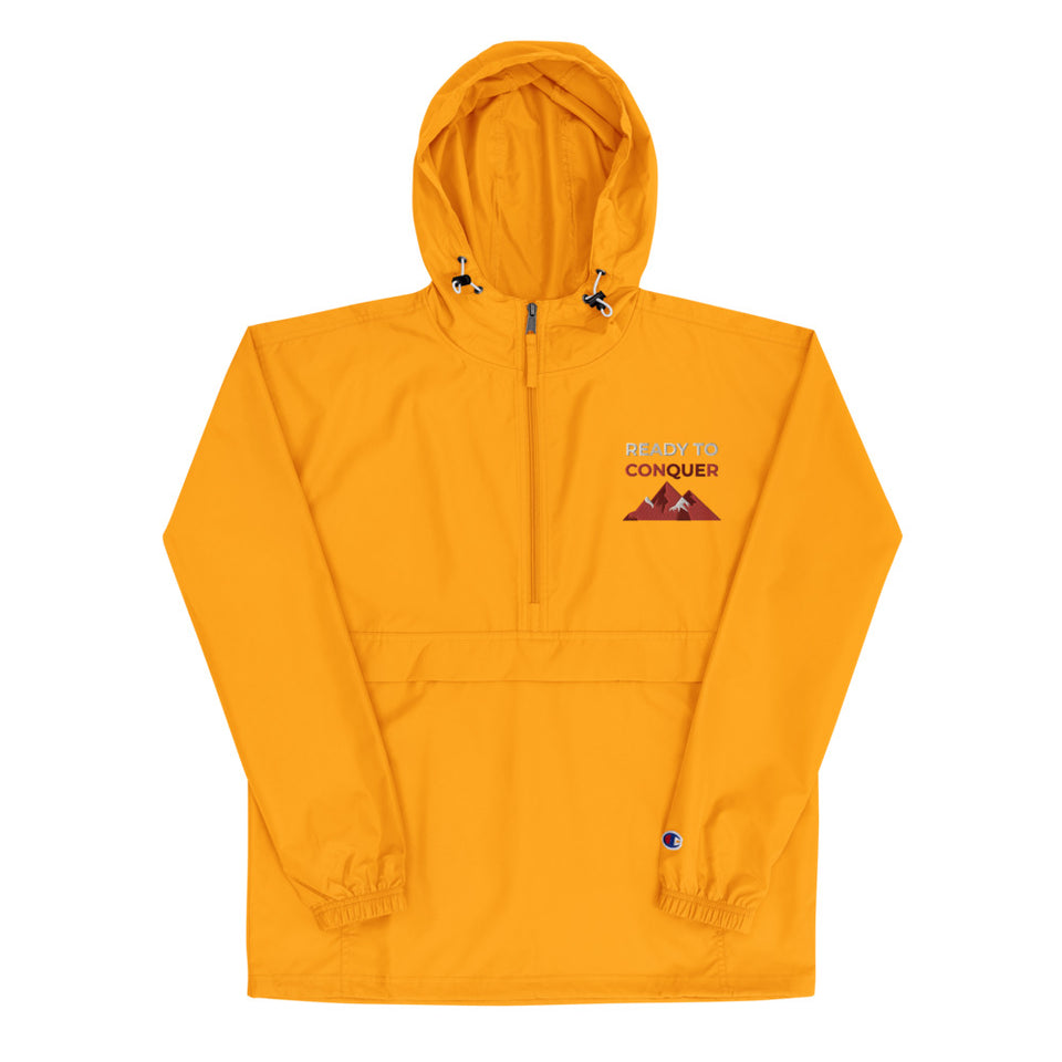 Gold Ready to Conquer Champion Packable Jacket