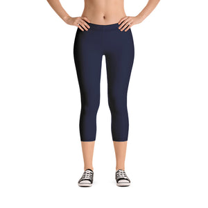 chic-navy-blue-urban-capri-leggings-for-women