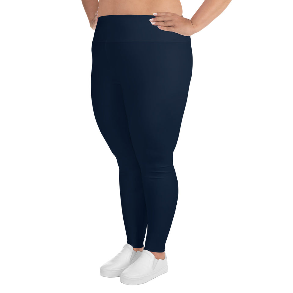 neutral-elegant-navy-blue-plus-size-leggings