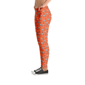 Not So Tribal Elephants Urban Leggings