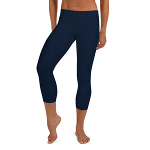 neutral-navy-blue-urban-capri-leggings-women