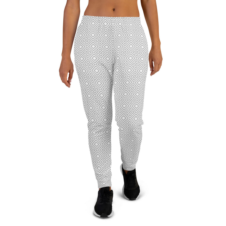 geometric-white-joggers-for-women-1