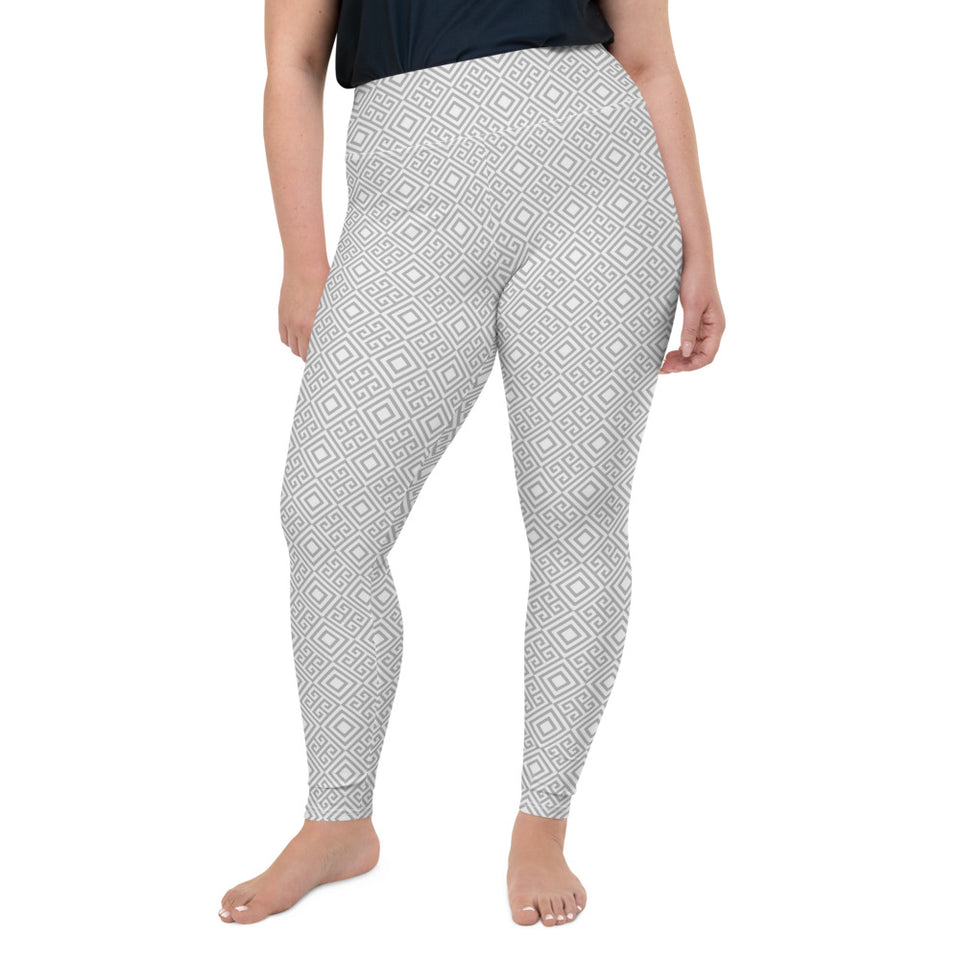 clarity-geometric-white-grey-elegant-chic-plus-size-leggings-shop