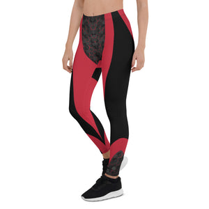 Pink Cyberpunk Urban Leggings