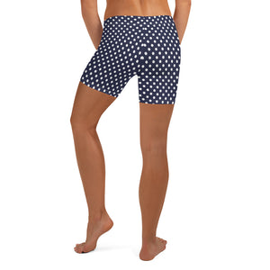 polka-dots-navy-white-urban-shorts-women