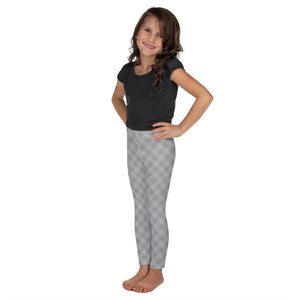 Modern Argyle Kid's Leggings
