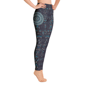 aztec-mandala-geometric-navy-blue-jade-green-yoga-leggings-women